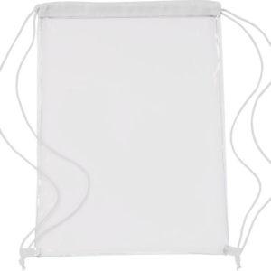 Transparent PVC Drawstring Bag