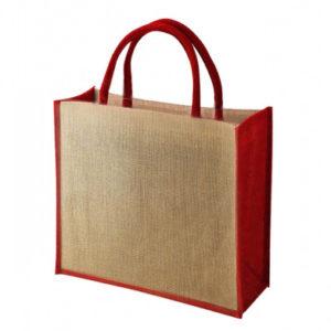 Tembo Coloured Trim Jute Bags
