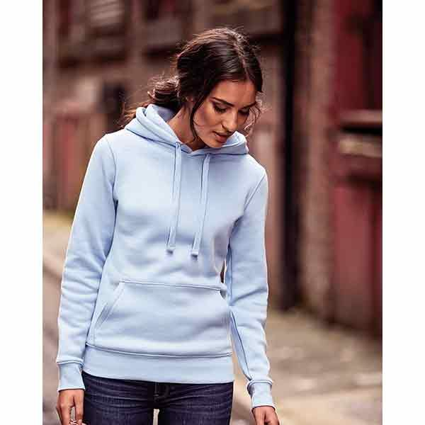 Russell Ladies Authentic Hoodie, Stupid Tuesday