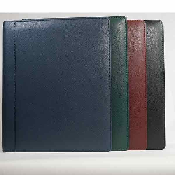 Personalised Leather deluxe desk wallet