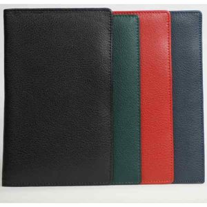 Personalised leather deluxe pocket wallet