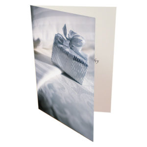Personalised A5 greetings card