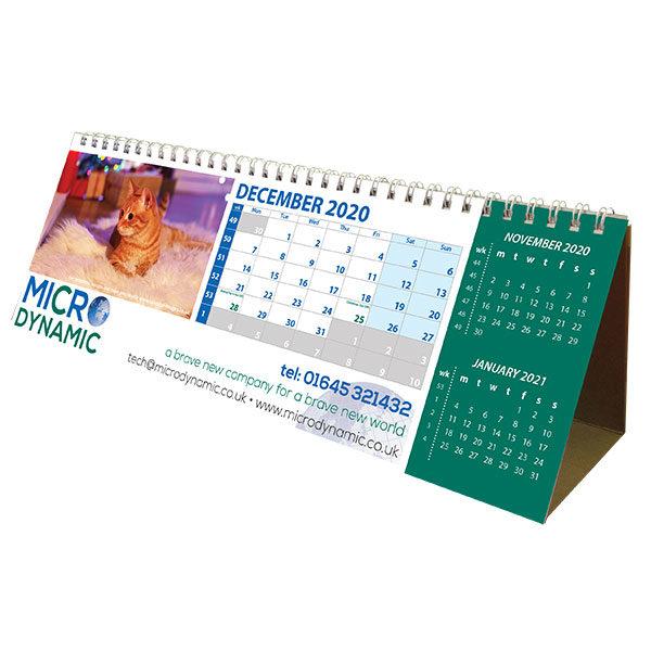 Personalised XL easel calendar