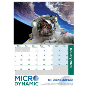 Personalised A2 wall calendar