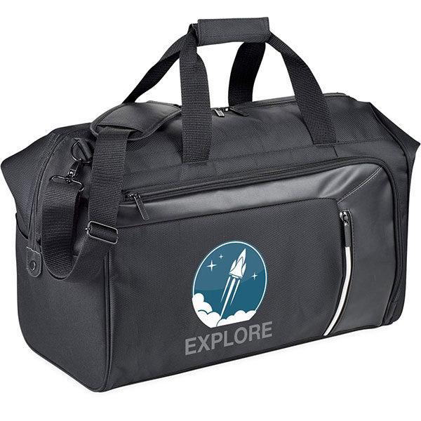 Vault RFID Travel Duffel Bag, Stupid Tuesday