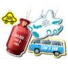 Sweet Chariot Car Air Freshener, Stupid Tuesday