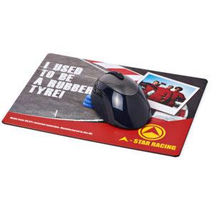 Tyre Brite-Mat Rectangular Mouse Mat, Stupid Tuesday