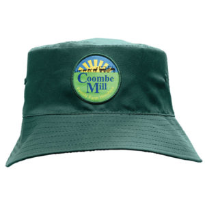 Poly twill bucket hat