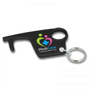 Hygiene Hook Keyrings - Black