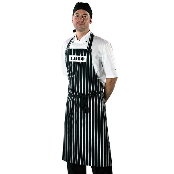 Dennys Cotton Striped Butchers Apron, Stupid Tuesday