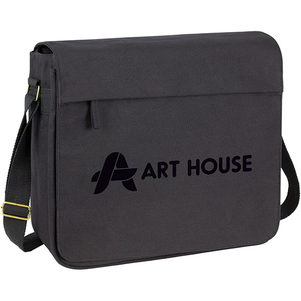 Harbledown Canvas Messenger Bag, Stupid Tuesday