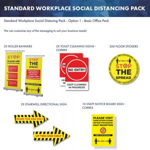 Workplace Social Distancing Pack 1