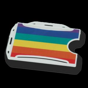 Rainbow ID Card Holder